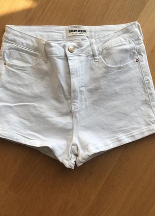 Белые шорти tally weijl1 фото