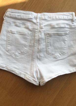 Белые шорти tally weijl2 фото
