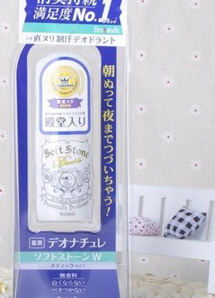 Лучший дезодорант из японии soft stone deonatulle