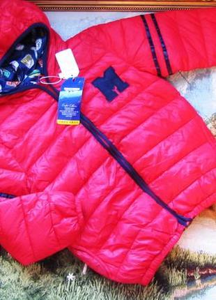Новые легкие  весенние куртки на 4 года