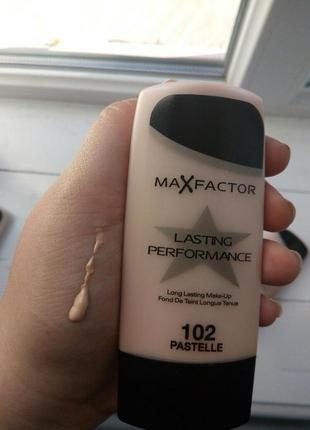 Тональный крем max factor lasting performance тон 102