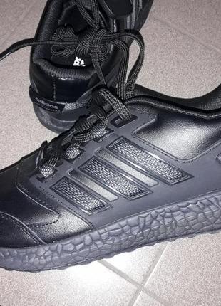 Мужские кроссовки натуральная кожа adidas