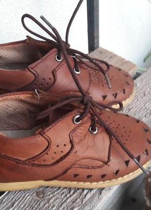 🐾 туфли кожа sibert (антошка)4 фото