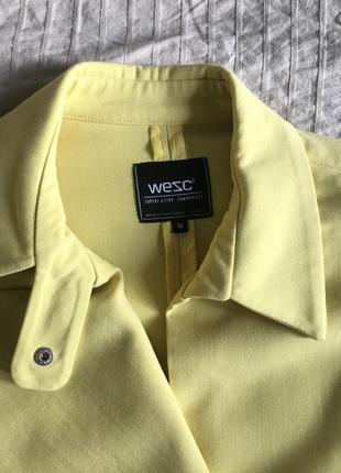 Жакет, куртка косуха желтого цвета6 фото