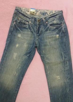 Капрі,скіни,бріджі,шорти,джинси  g-star  raw w28 l34