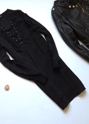 Платье со шнуровкой missguided