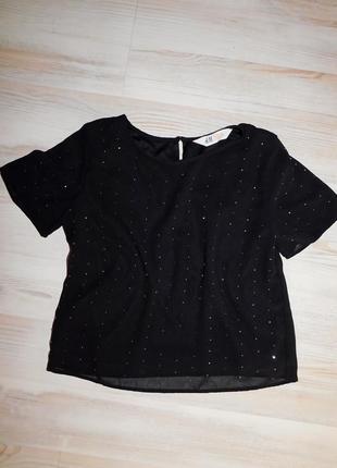 Блуза h&m для девочки 9-10 лет