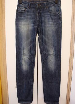 Джинсы скинни motor jeans - темно синие джинсы, прямые