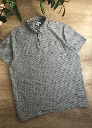Стильная трикотажная рубашка/тенниска/футболка-поло l-2xl