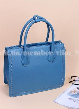 Женская сумка david jones 5143 голубая