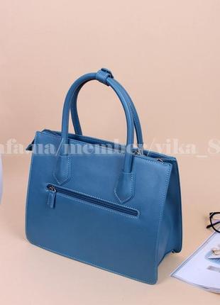 Женская сумка david jones 5143 голубая2 фото