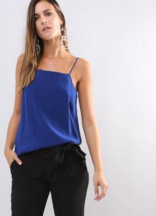 Вискозный топ mango eur s блуза !распродажа!