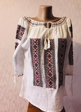 Блузка вышиванка mari-ie