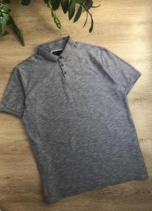 Стильная трикотажная рубашка/тенниска/футболка-поло l