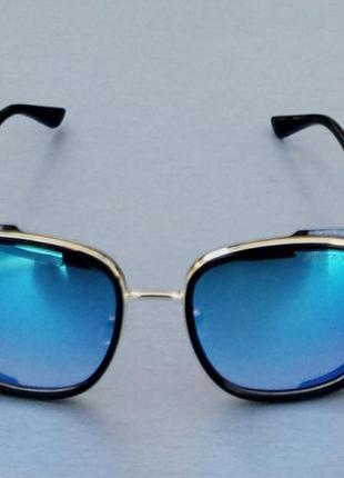 Jimmy choo очки женские солнцезащитные квадратные зеркальные синие