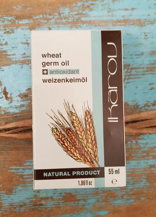 Масло зародышей пшеницы натуральное (ikarov), 55 мл
