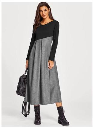 591b1ae725a Длинные шерстяные платья 2019 - купить недорого вещи в интернет ...