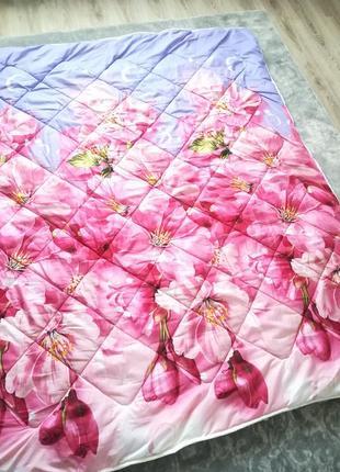 Синтепоновое 3 д одеяло с подкладом на овчине!