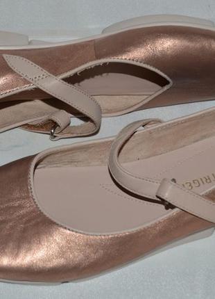 Туфли балетки мокасини кожа clarks размер 37, балетки кожа