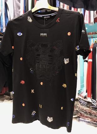 Футболка мужская kenzo черная