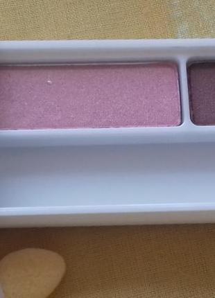 Новые двойные розовые коричневые тени для глаз клиник clinique 04 strawberry fudge