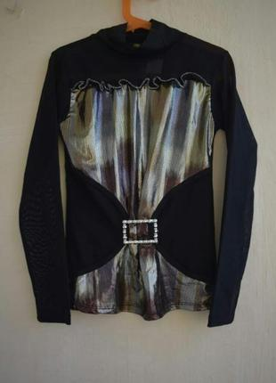 3f6fd1fb46c Нарядная кофта для девочки кофта для выступлений праздничная кофта блузка  сеточка