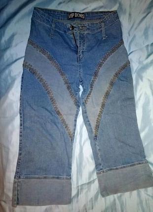 Бриджи джинсовые 44-46