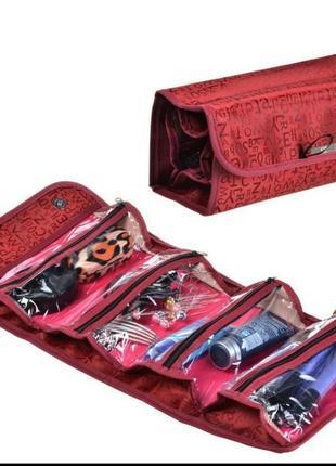 Органайзер сумка косметичка с крючком для путешествий мужская женская для отеля несессер