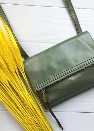 Натуральная кожа, сумка через плечо hobo bags