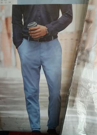 Фирменные мужские chino брюки от watsons германия. качество шикарное!4 фото