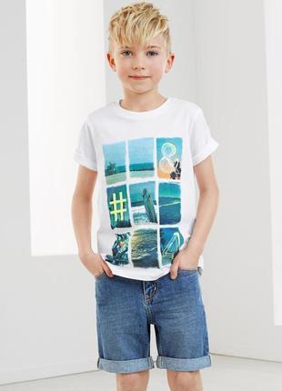 Стиляжные джинсовые шорты tchibo, германия