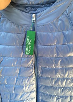 Курточка с укороченным рукавом benetton оригинал р.44