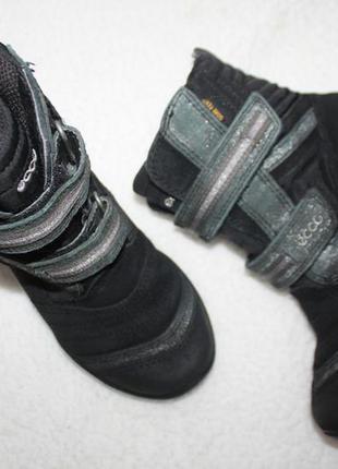 Зимние термо сапоги фирмы ecco 31 размера по стельке 19-19,5 см.