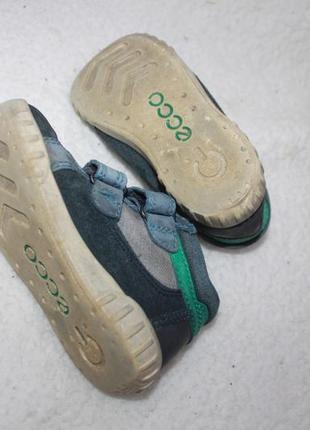 Ботинки кожаные фирмы ecco 24 размер по стельке 15-15,3 см.7 фото