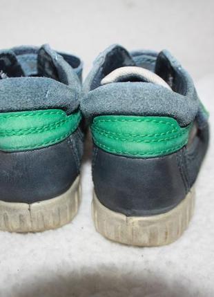 Ботинки кожаные фирмы ecco 24 размер по стельке 15-15,3 см.6 фото