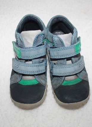 Ботинки кожаные фирмы ecco 24 размер по стельке 15-15,3 см.4 фото