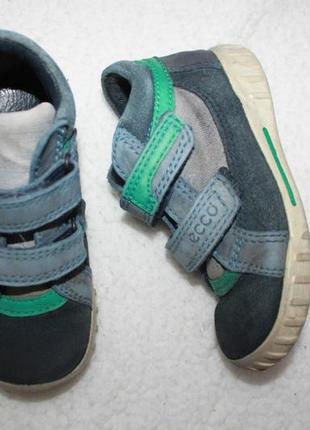 Ботинки кожаные фирмы ecco 24 размер по стельке 15-15,3 см.3 фото