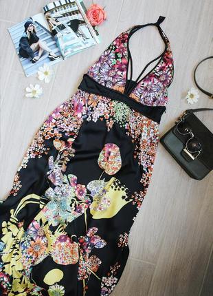 Шикарное платье/сарафан/сукня в пол от бренда mango