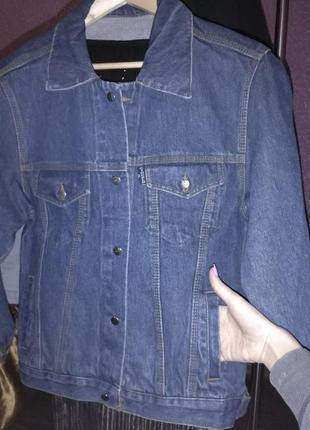Новая джинсовая куртка, джинсовка, оверсайз, ретро