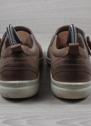 Кожаные женские туфли ecco оригинал, размер 40 - 415 фото