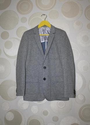 Трикотажный пиджак m&s на 11-12 лет, 152 рост.