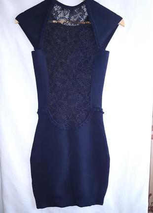 Красивое бандажное платье с кружевом раз.s3 фото