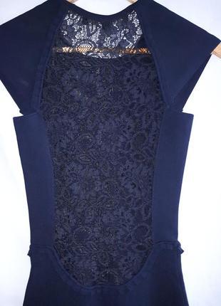 Красивое бандажное платье с кружевом раз.s4 фото