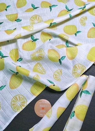 Пеленка муслин+ 2 салфетки