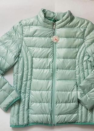 Куртка пуховик ультралегкий демі s.oliver розмір 42