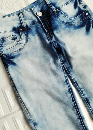Джинсы варенки на высокую девушку, светло-голубые2 фото