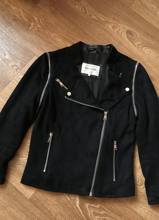Замшевая курточка косуха от river island