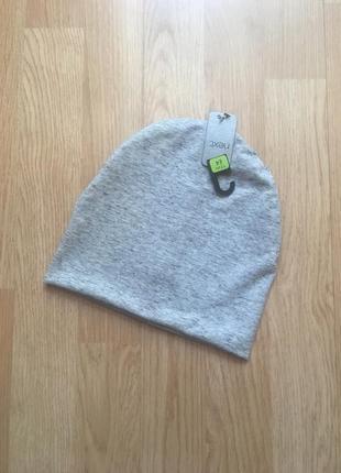 Фирменная двухслойная деми шапка для мальчика next, размер 1-2г, 48-49