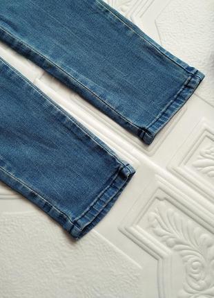 Джинсы варенки скинни, с присобраными коленками4 фото