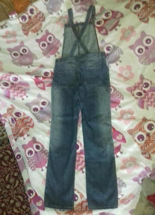 Комбинезон джинсовый2 фото